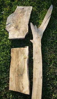 Driftwood planks