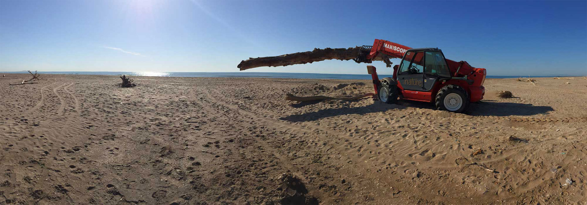 photo manitou sur plage