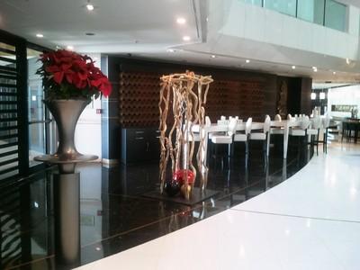 Décor réalisé pour l'hotel Marriety à Cannes
