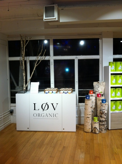 Décoration des boutiques Lov Organic