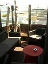 Troncs de bois flotté pour un hotel à St Malo
