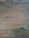 Le plancher en bois flotté