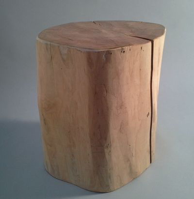 tabouret en bois flotté