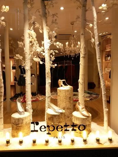 troncs de bouleaux chez REPETTO