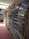 Décoration pour un stand en bois flotté