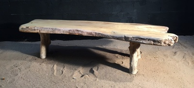 Table basse en bois flotté ref 5472