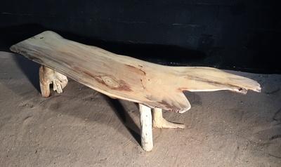 banc en bois flotté