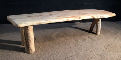i of love some herb bench benches are made driftwood wood here the