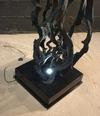 Sculpture lianes noires