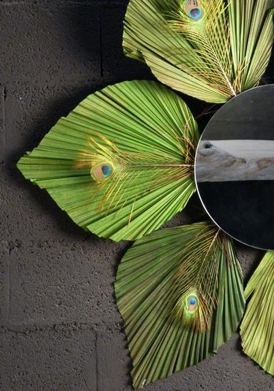 Miroir paon
