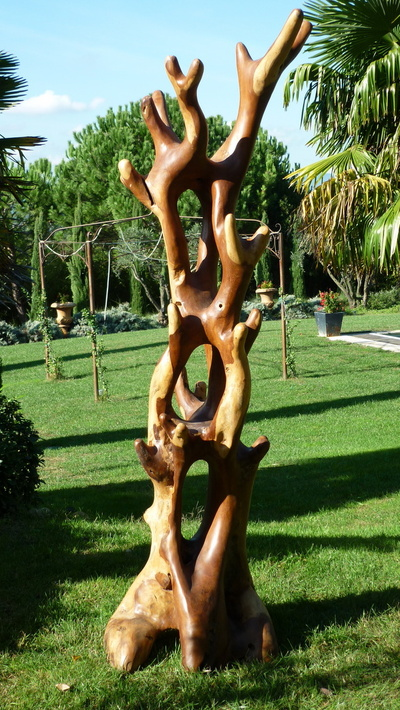 sculpture arbre