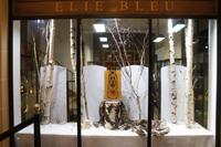 Vitrine de la boutique Elie Bleu à Paris