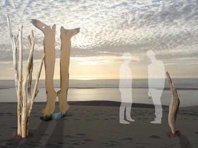 Vente ou location de sculptures en bois flotté