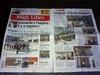 Les paravents en bois flotté de Déco-Nature au Lycée de Sérignan dans le journal Midi Libre