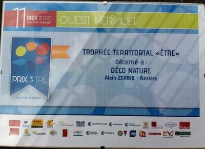 """TrophéeTerritorial """"etre"""" pour la région de Béziers"""