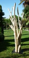 sculpture de branches de bois flotté gros modèle