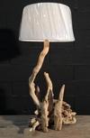 Lampe en bois flotté ref 160503