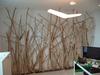 mur en bois flotté