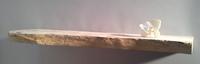 Shelf driftwood plank