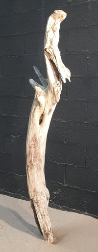 sculpture en bois flotté ref 4142