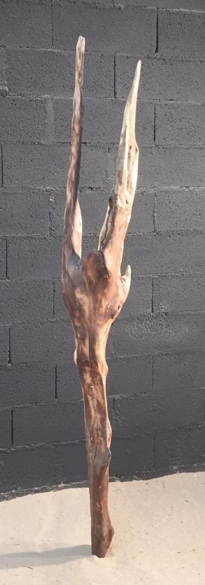 sculpture en bois flotté ref 4144