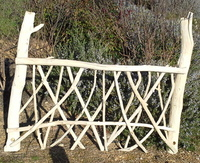 Driftwood headboard